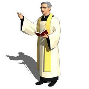 Image result for linh mục hoạt hình