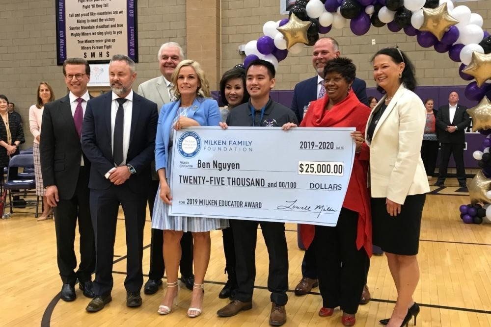 milken educator awards ben nguyen